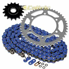 Blue O-Ring Drive Chain & Sprockets Fits YAMAHA XTZ750 Super Tenere 750 90-98