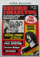 RECORD COLLECTOR MAGAZINE - Issue 61 September 1984 - Rolling Stones / Zappa