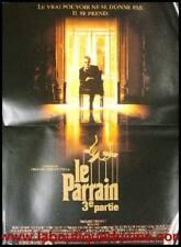 LE PARRAIN 3 III Affiche Cinéma Pliée 53x40 Movie Poster FRANCIS FORD COPPOLA