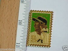 Lou Gehrig Vintage Baseball Player Stamp Pin Sports Lapel Pin (#112)