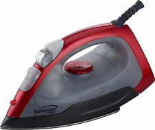 Brentwood Appliances Steam Dry Spray Clothes Electric Iron Red