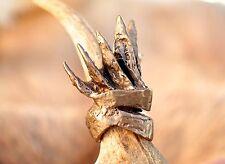 Game of Thrones inspired King's Ring Handmade of Bronze