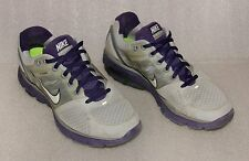 NIKE LUNARGLIDE 2 GREY PHOTO PURPLE RUNNING MEN SZ 8 407647-028