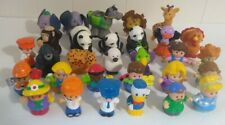 Fisher-Price Little People Lot 30 Animals And People - Disney + Many RARE!