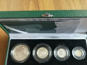 2003 UK Britannia SILVER PROOF collection set : 59.9g : inc £2 one ounce coin