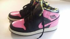 Nike Shoes Air Jordan 1 Phat Pink/Black Sneakers Size Y7 EUC!  09