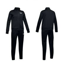 Under Armour GirlsTracksuit Kids Tracksuits Knit Bottoms Football Trouser Zip