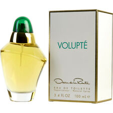VOLUPTE 100ml EDT SPRAY FOR WOMEN BY OSCAR DE LA RENTA ------------- NEW PERFUME