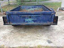 box trailer 6x4 no rego some rust in floor
