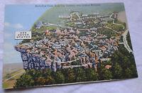 Lookout Mountain View Postcard Rock City Gardens, Georgia Landmarks VTG