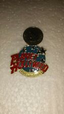Planet Hollywood ATLANTIC CITY Classic Globe Red, White & Light Blue Lapel Pin