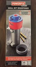 3.5-10mm HSS DRILL BIT SHARPENER + REPLACEMENT GRINDING STONE SHARPENING MACHINE