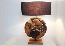 Innenraum-Tischlampen aus Holz in aktuellem Design