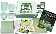 Cheese Making Kit for Hard & Soft Cheese with Book - Includes 4 Cheese Moulds