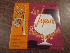 mini 33 tours les joyeux bourguignons encore un p'tit verre de vin