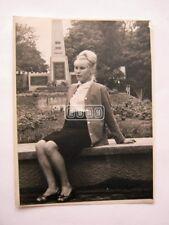 Vintage original Real Russian USSR Woman Fashion SU Soviet photo hairstyle USSR