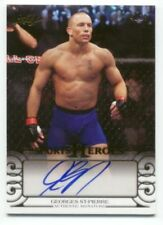 Leaf Georges St-Pierre Mixed Martial Arts Cards