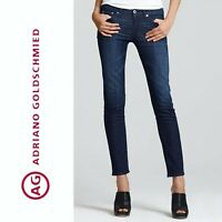 $198 AG Adriano Goldschmied STILT Cigarette Skinny Blue Jeans Size 28 * 7105