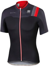 Sportful Bodyfit Team Short Sleeve Mens Cycling Jersey - Black
