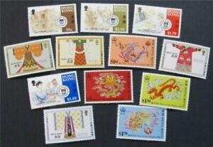nystamps British Hong Kong Stamp # 505//518 Mint OG H/NH    S24x2546