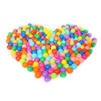 100 pcs/set di set di palline marine in plastica morbida colorate e interessanti