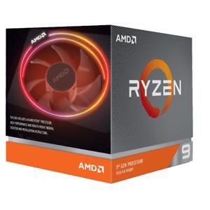 AMD Ryzen 9 3900X CPU 100-100000023BOX, 12x bis 4,60GHz, (boxed) inkl. Kühler