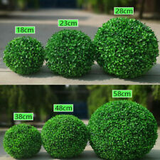 Artificial Grass Green Topiary Balls Indoor Hanging Garden Home Decor NEW
