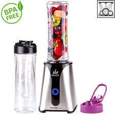 Smoothie Maker mit 2 Trinkflaschen BPA frei, Standmixer, Mixer, Milchshaker 350W