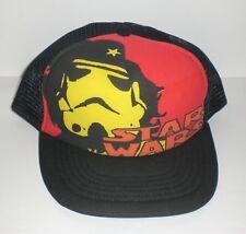 Star Wars Trucker Hat Stormtrooper Che Guevara Beret Snapback Cap Black Mesh