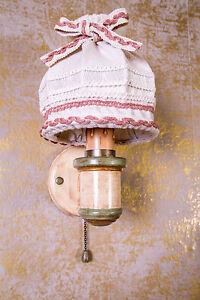 Voglauer Anno 1700 Altweiß Wandlampe Wandleuchte Landhaus Lampe Leuchte Antik