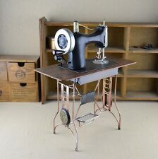 New 1:4 & 1:3 Scale Doll House Antique Sewing Machine Fashion Home