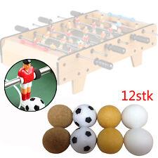 12x Bälle mini Tischfußball Tischkicker 35mm Kicker Ersatzbälle Kickerbälle  PU