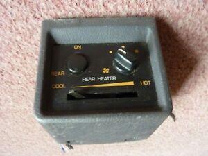 Mitsubishi Shogun Rear Heater Control Panel 1997