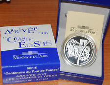 France 2003 Champs Elysees 100 Years TOUR Centenay 1,5 euros Silver Proof 1/2€