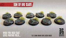 Son of Big Slate 10 x 25mm round resin bases