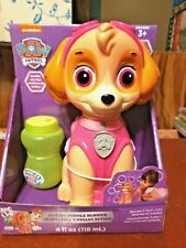 Paw Patrol Skye Action Bubble Blower and Includes Bubble Solution**NEW**