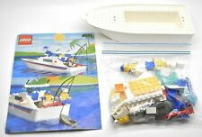 Lego Cabin Cruiser #4011 Loose Set With Instructions 1991 No Stickers
