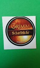"GRIMM SCHARFBLICKE TITLE TV GETGLUE GET GLUE SMALL 1.5"" STICKER"