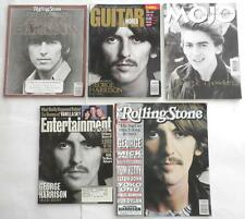 5 Remembering George Harrison Magazines 1943 - 2001