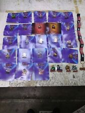 YuGiOh Collectible Pin - Series One - LOT OF 23 ALL ON CARDS RARE PLUS LANYARD