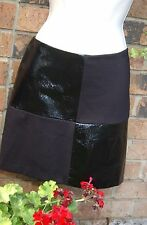 NEW ALICE&TRIXIE Little Black Skirt Genuine Leather  Women's Small Retail $224