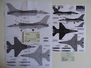 Astra decals 1/72 F-16C/D stencils