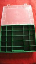 Sortierkasten -koffer Sortimentskasten -koffer Aufbewahrung 25 Fächer grün