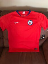 5ec92278916 Nike 2018 World Cup Chile National Team Red Soccer Jersey NWT Size L Men