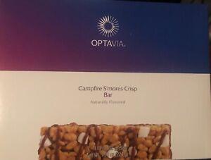 Optavia Medifast Campfire S'mores  Crisp Bar  1 Box - 7 Meals Fuelings New