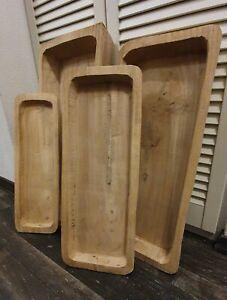 Holzschale Dekoschale Holz Molle Schale Obstschale Wannenablage Holzmolle