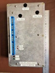 Ultrasonic System Control Box from a CAE Lynx Helicopter Flight Simulator