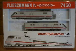 Fleischmann Piccolo 7450 Locomotive N Gauge Boxed Spares or Repairs