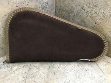 """New Allen Suede Leather Gun Pistol Case 13"""" 85-13 Made in USA"""