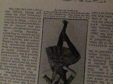 m5-2g ephemera 1912 article national dances for children - irish